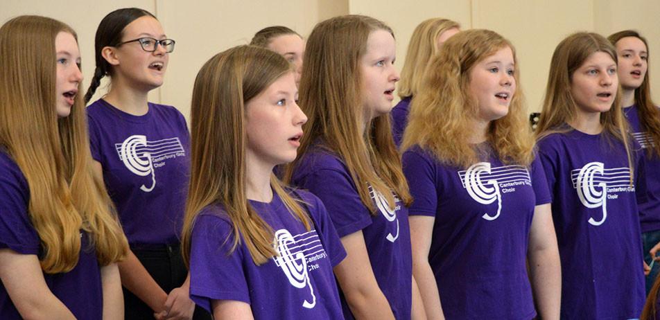 CANTERBURY GIRLS' CHOIR