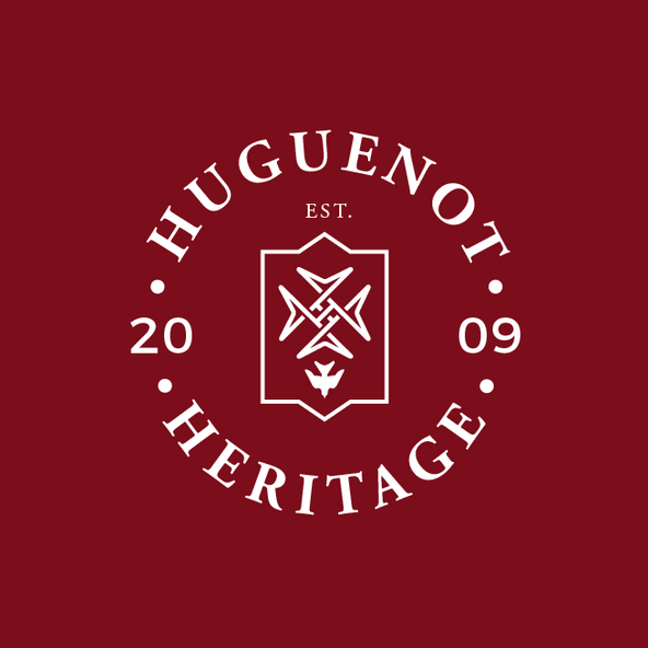 Logo design for Huguenot Heritage