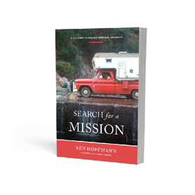 """Cover and typesetting for """"Search for a Mission"""""""