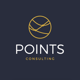 Logo design for Points Consulting