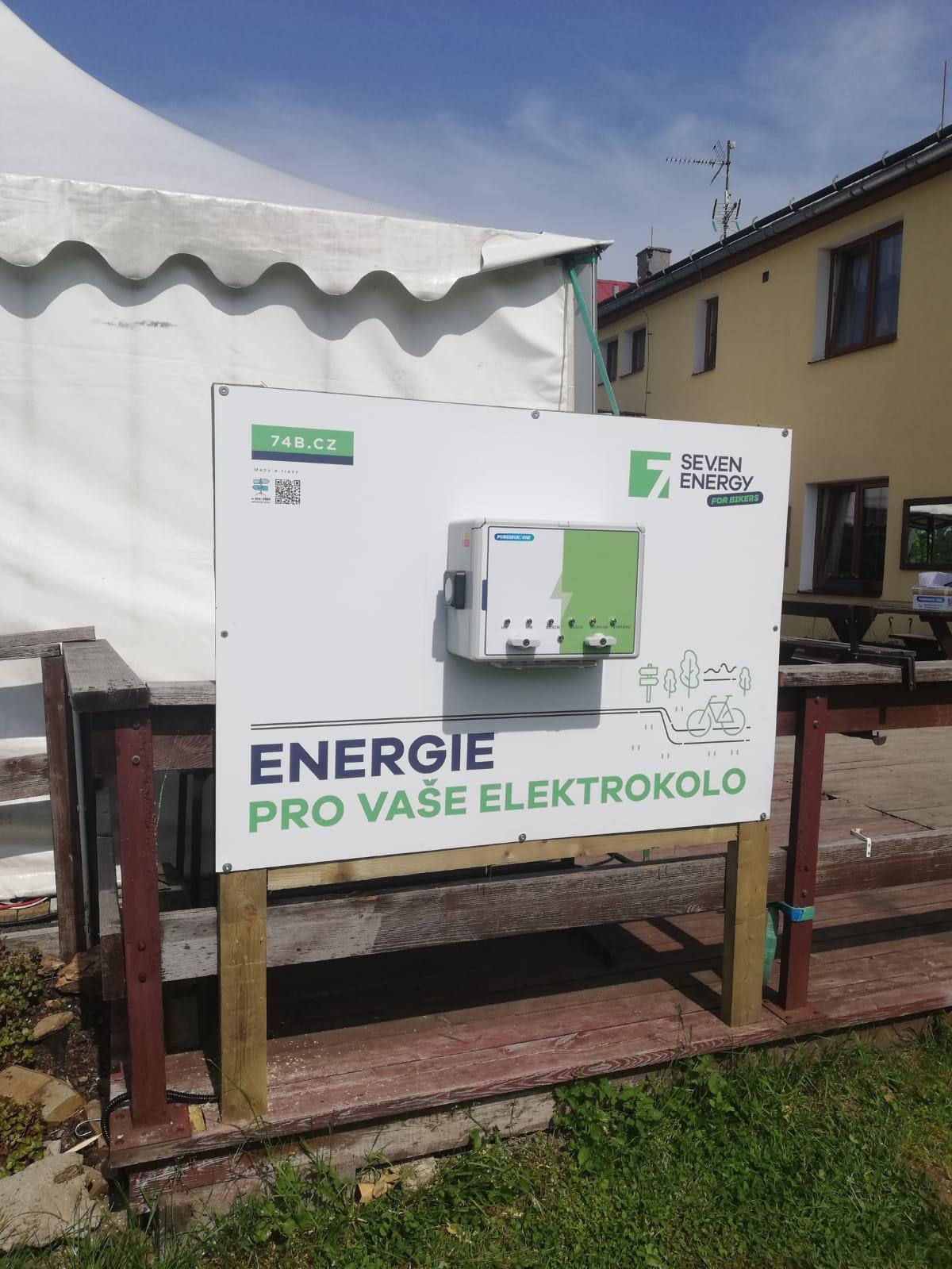 Nabíjecí stanice pro elektrokola