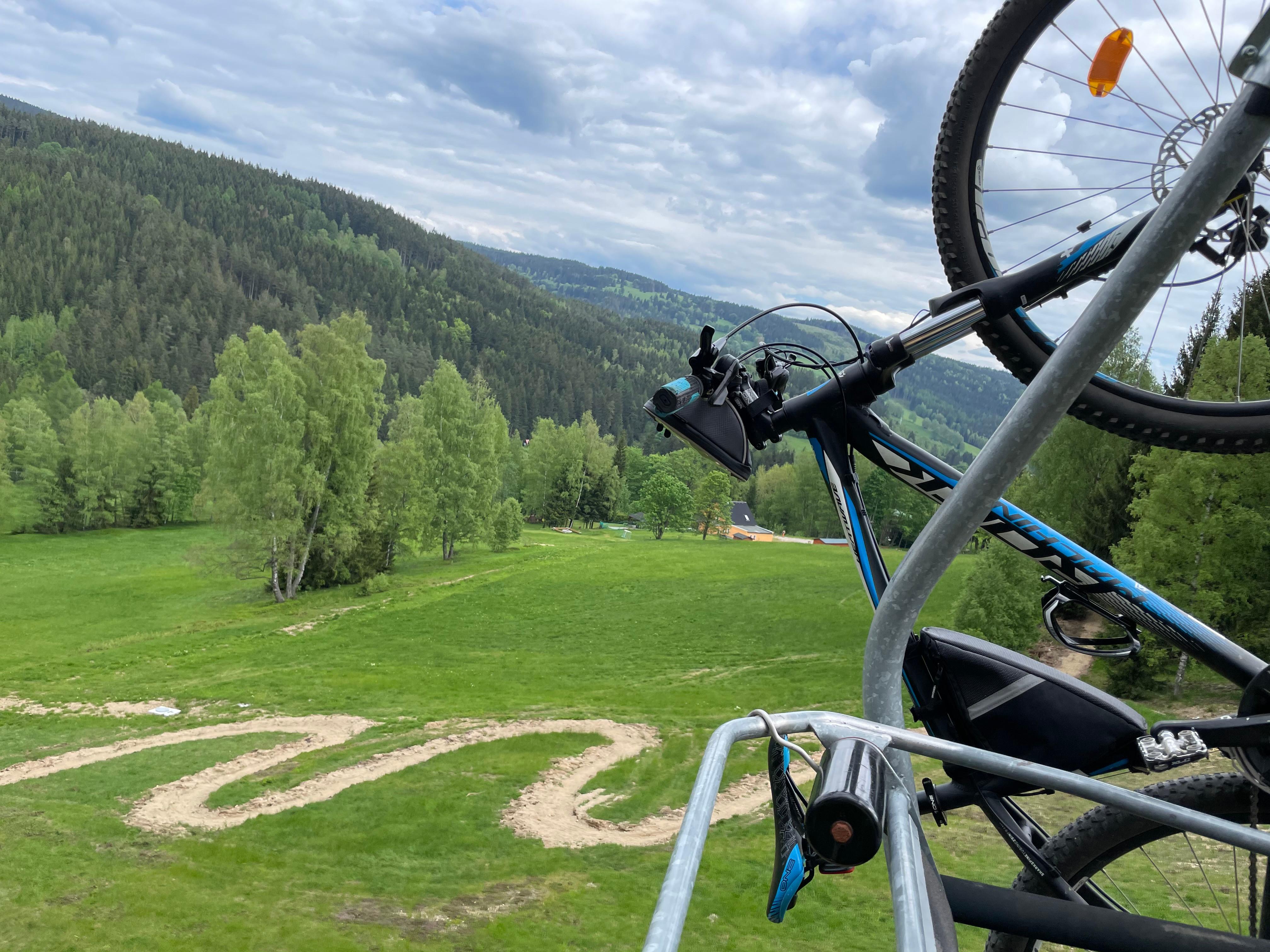 Bike Trail pro celou rodinu