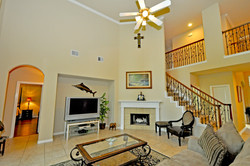 Family Room TV and Fireplace - Copy