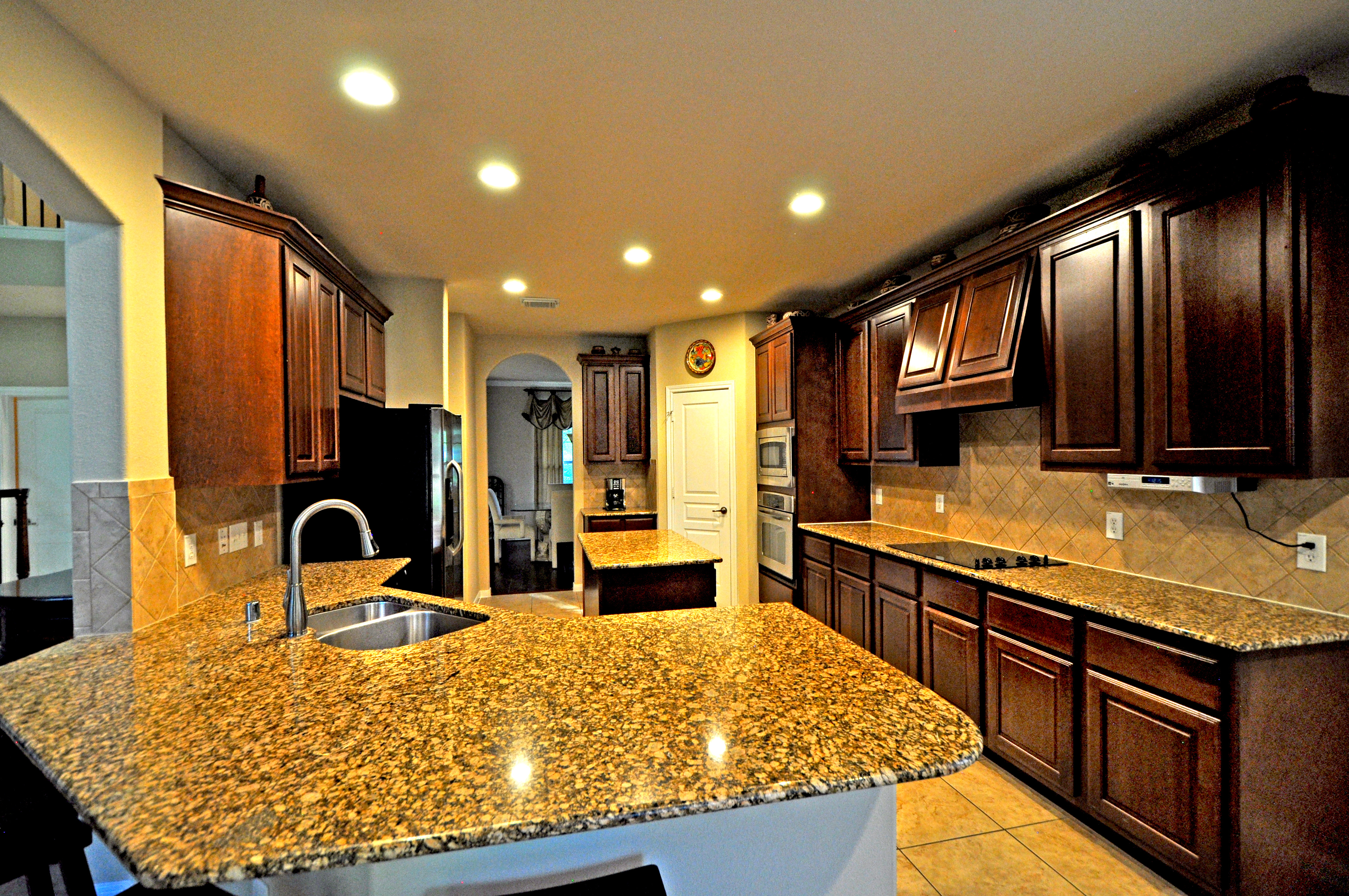 Granite Counter Top with Sink - Copy