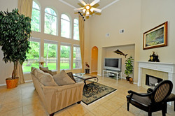 Family Room windows and fireplace - Copy