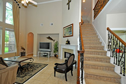 Stairs and Family Room - Copy