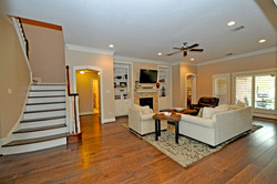 Family Room and Stairs - Copy