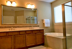 Dual Sink and Tub