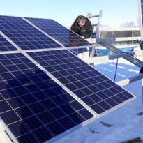 Каркас солнечной батареи