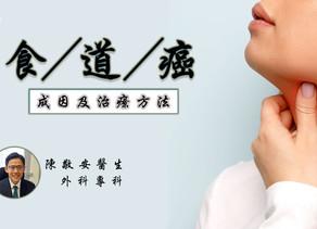 【食道癌】成因及治療方法