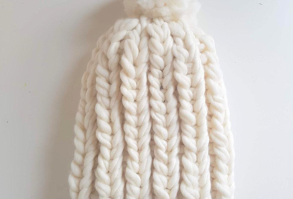 Snow beanie