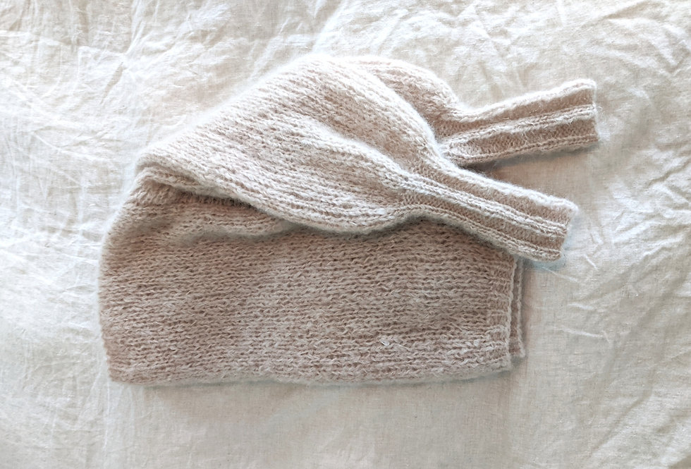 Daydreamer mohair sweater - cafe
