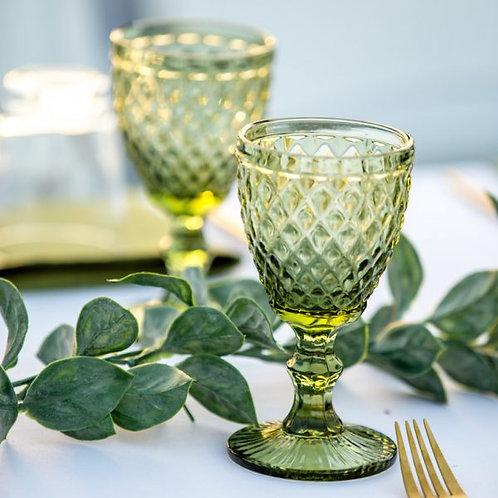 Gobelets / verres teintés (Vert)