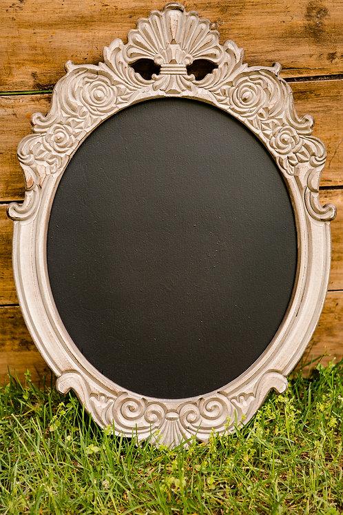 Moyen tableau cadre ovale