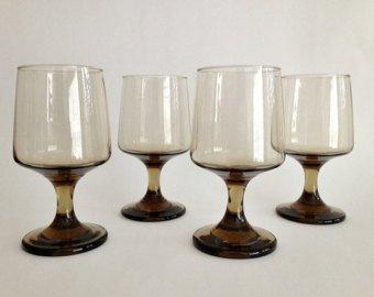 Gobelets / verres teintés (Fumé)