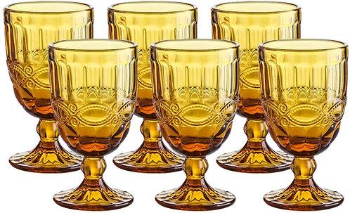 Gobelets / verres teintés (Ambré)