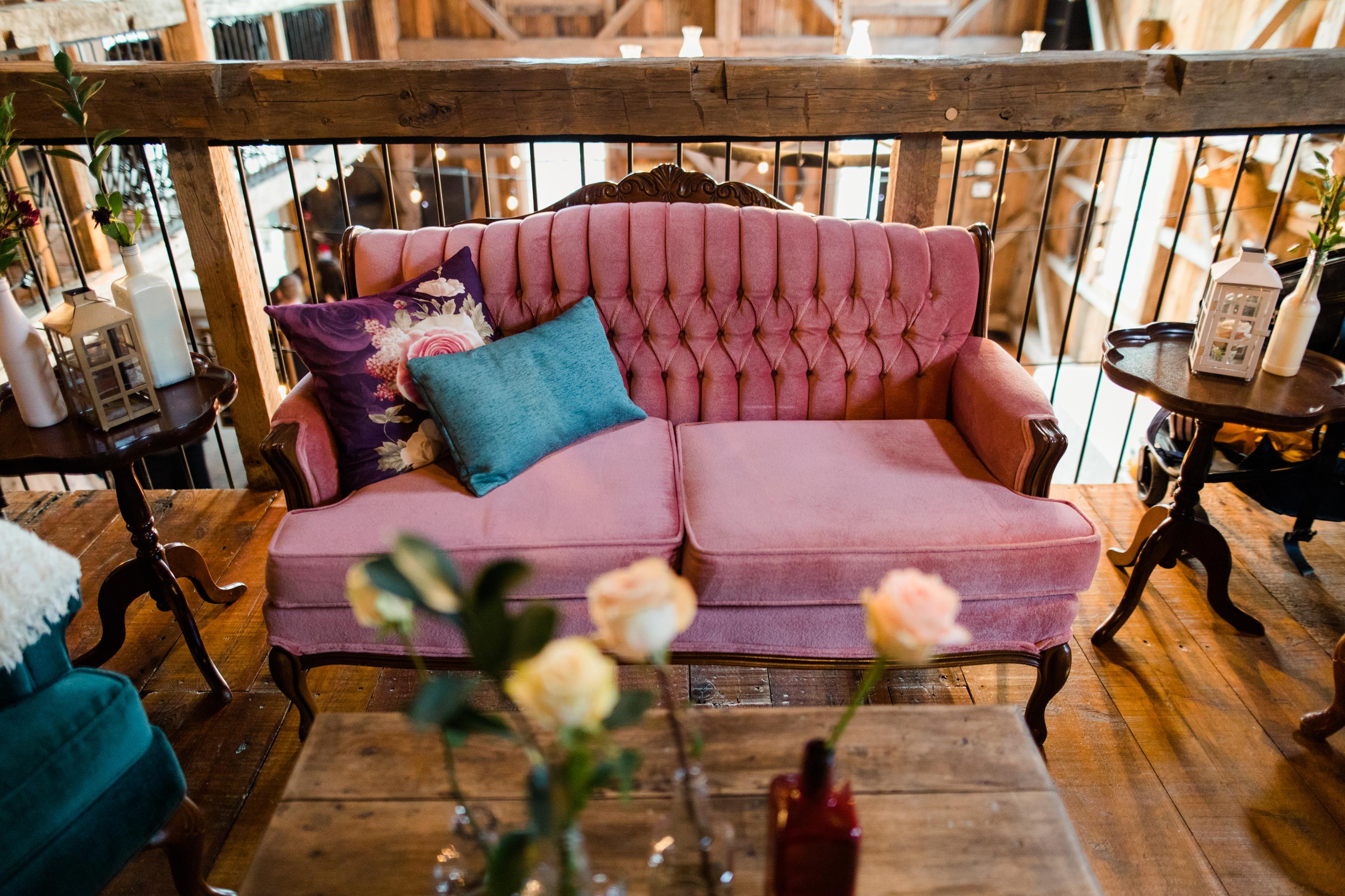 Divan Rosalie - lounge mariage
