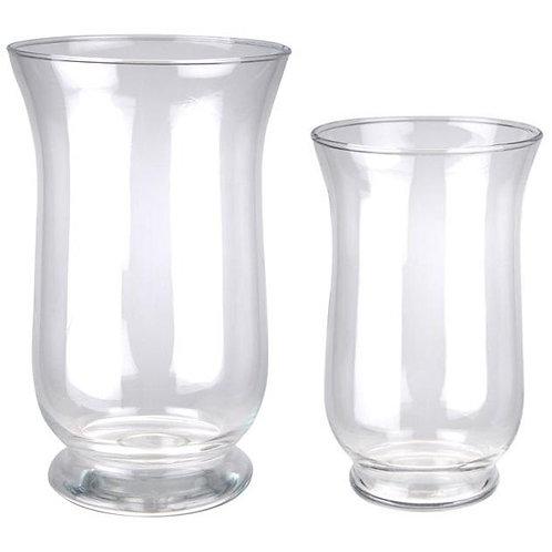 Vases/lanternes en verre
