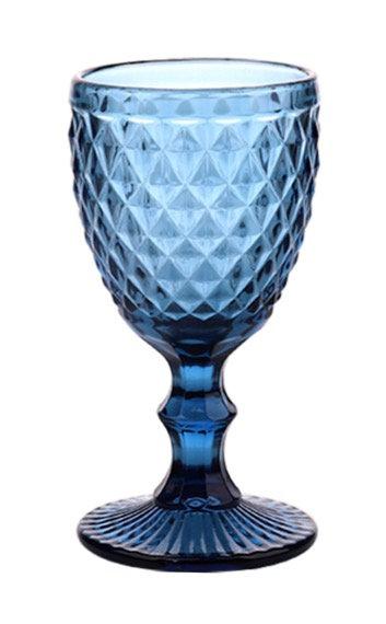 Gobelets / verres teintés (Bleu)