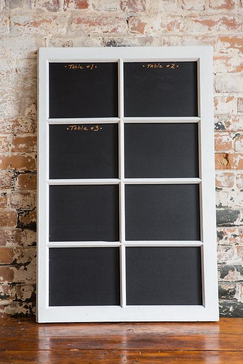 Fenêtre tableau 8 carreaux