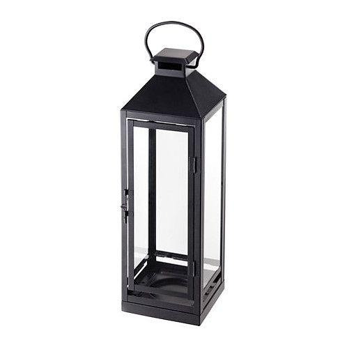 Lanterne haute noire