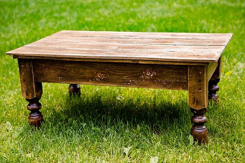 Table basse bois massif