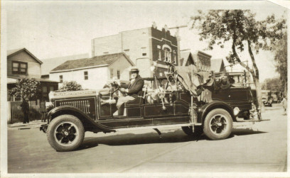 1928 GMC Chemical Engine & Hose Wagon