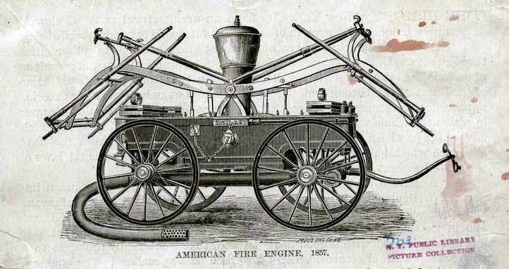 1862 Hand Pumper
