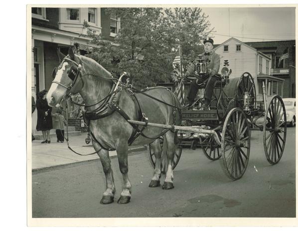 1874 Leverich Hose Wagon Horse-drawn