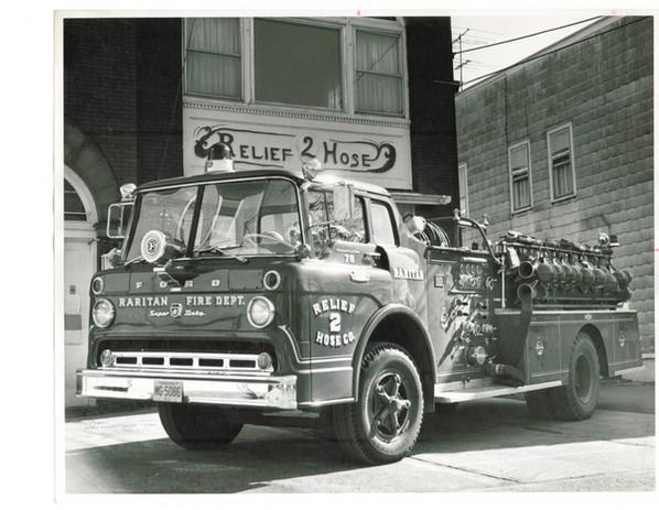 1965 Ford Pirsch 1000 gpm Pumper