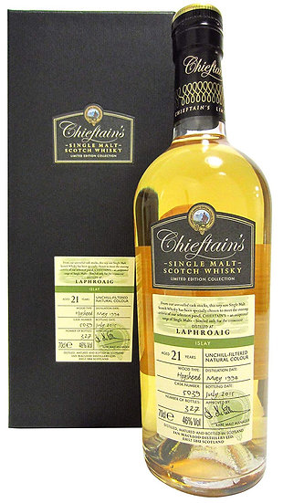 LAPHROAIG 21 YO CHIEFTAIN'S 46% 1994/2015