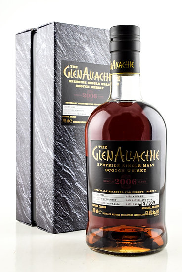 GLENALLACHIE SINGLE  CASK 2006 13 YO PX PUNCHEON #4522 60,8°