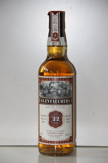 Glentauchers 22 yo Limited edition 51,1% 1996/2018