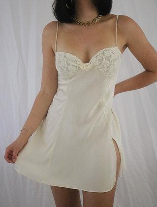 Vintage Sugar 80's Victoria's Secret Silk Slip Dress
