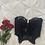 Thumbnail: Vintage 80's Noir Victoria's Secret Bustier (36B/34C)