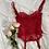 Thumbnail: Vintage Cherry Lace Bustier