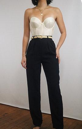 Vintage Ralph Lauren Midnight Wool Trousers
