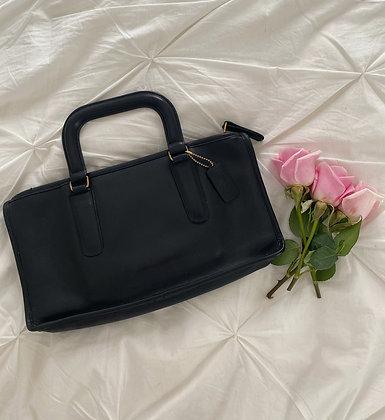 Vintage Noir 1970's Coach Bonnie Cashin Bag