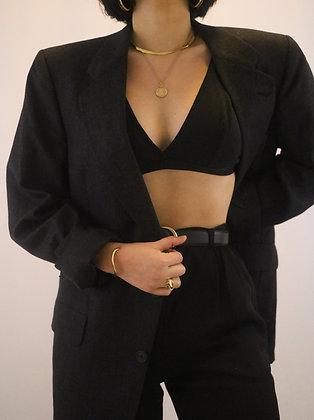 Vintage Christian Dior Slate Blazer