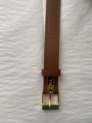 Vintage Ralph Lauren Caramel Leather Belt