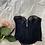 Thumbnail: Vintage Noir Lace Plunging Bustier