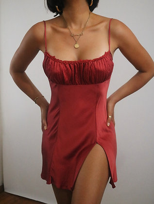 Vintage Victoria's Secret Silk Slip Dress