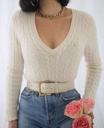 Vintage Sugar Ralph Lauren Cashmere Sweater