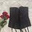 Thumbnail: Vintage Noir Satin Corset (Large)