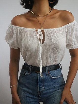 Vintage Milk Cotton Top