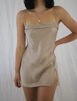 Vintage Mousse Victoria's Secret Silk Slip Dress