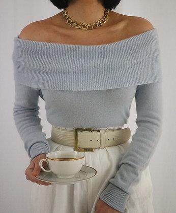 Vintage Sky Cashmere Sweater