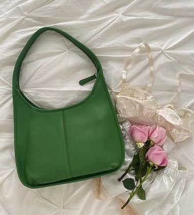 Vintage 1980's Avocado Coach Ergo Bag