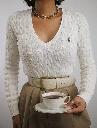 Vintage Milk Ralph Lauren Sweater