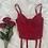 Thumbnail: Vintage Cherry Lace Bustier (36B/34C)